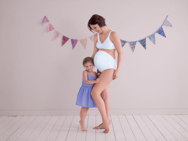 Těhotenský pás Baby Belt 1708 - Anita - 44-46 - bílá