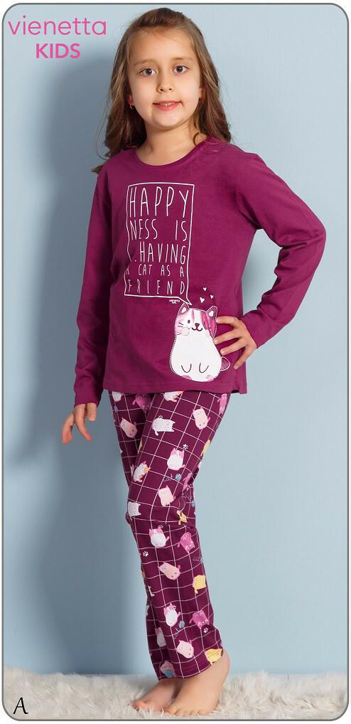 Dětské pyžamo Kotě 0389 - Vienetta