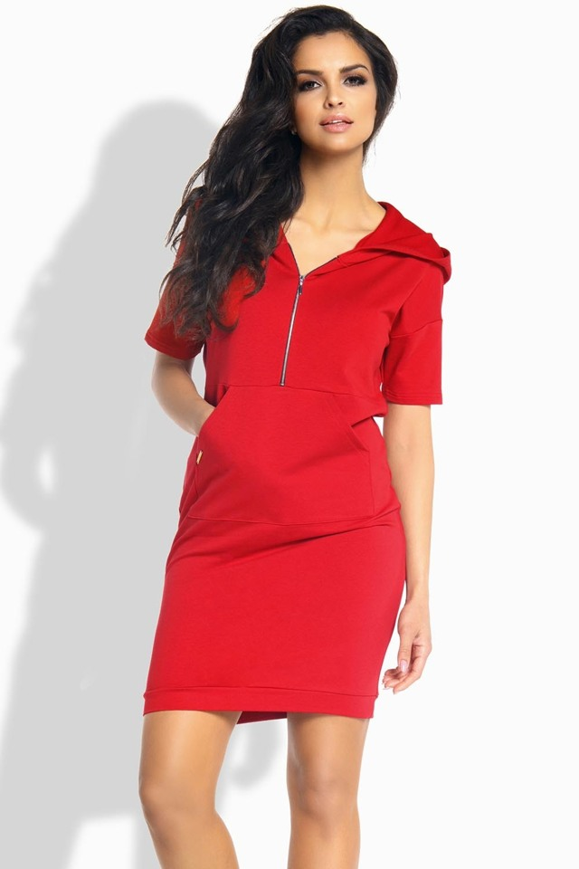 Dámské šaty Lemoniade L190 - M - červená