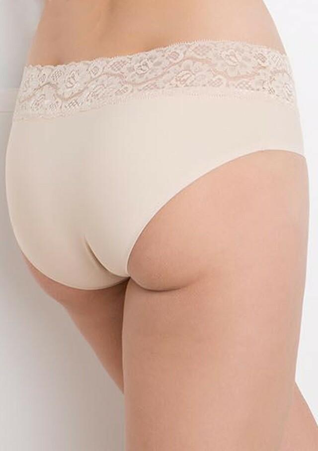 Dámské kalhotky Julimex Hipster - S - Tělová