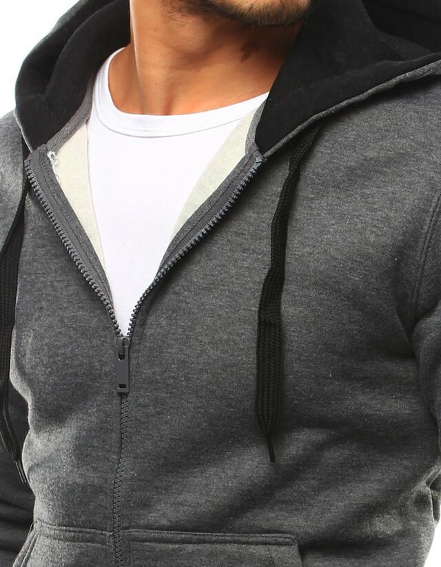 Pánská mikina s kapucí 2074-2 bx2430 - J.Style