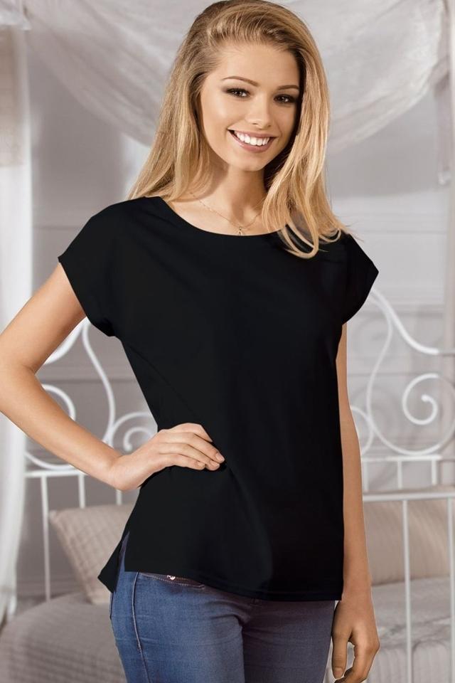 Dámské tričko Oxana black - S - černá