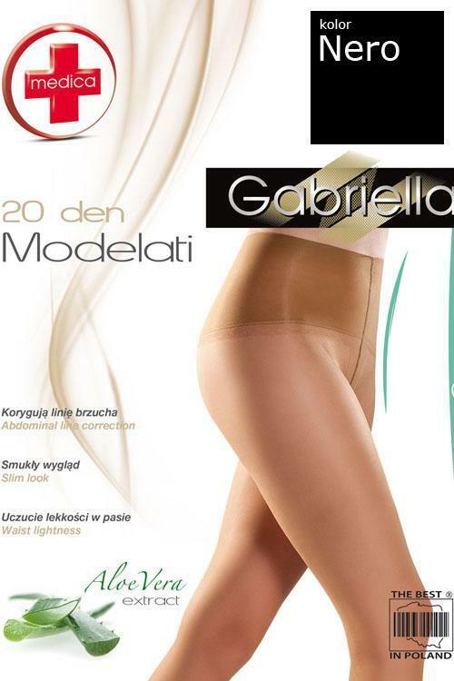 Tvarující punčocháče Gabriella Medica ModeLeti 20 DEN Code 170 - 2-S - neutro