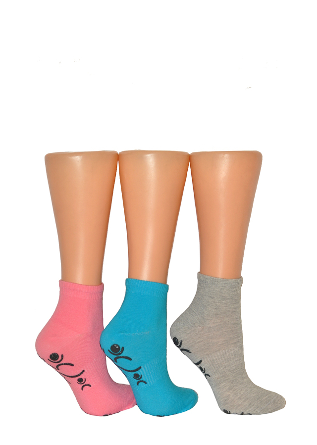 Dámské ponožky Bratex Ona Sport 5309 ABS - 39-41 - černá