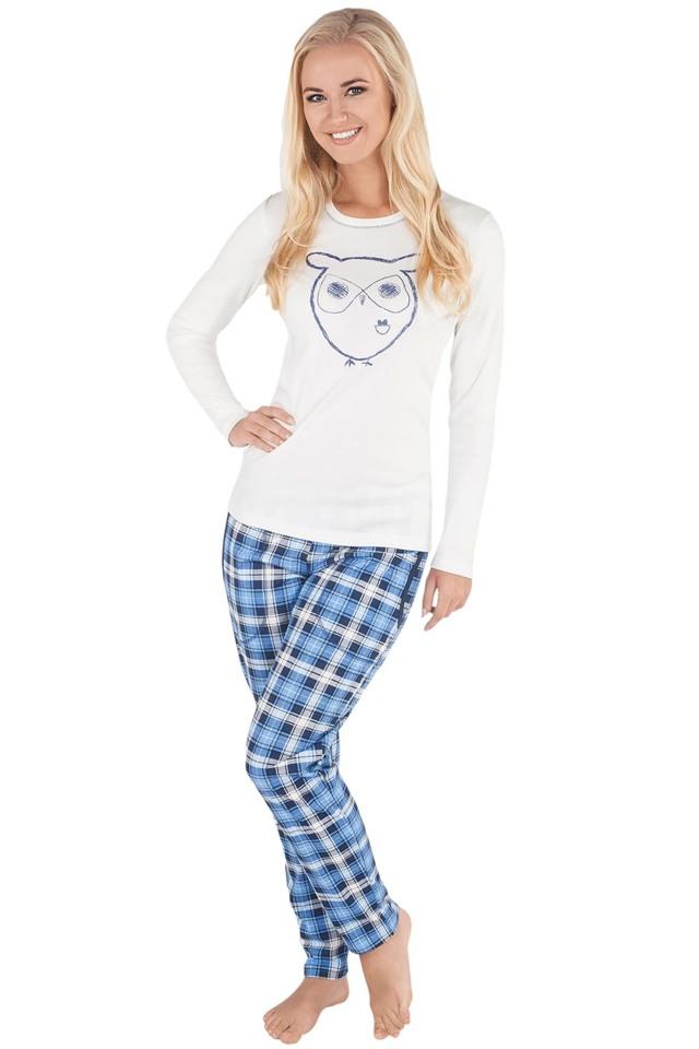 Dámské pyžamo Italian Fashion Aurelia - XL - okrová