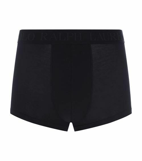 Pánské boxerky Classic trunk-single - Ralph Lauren - M - černá