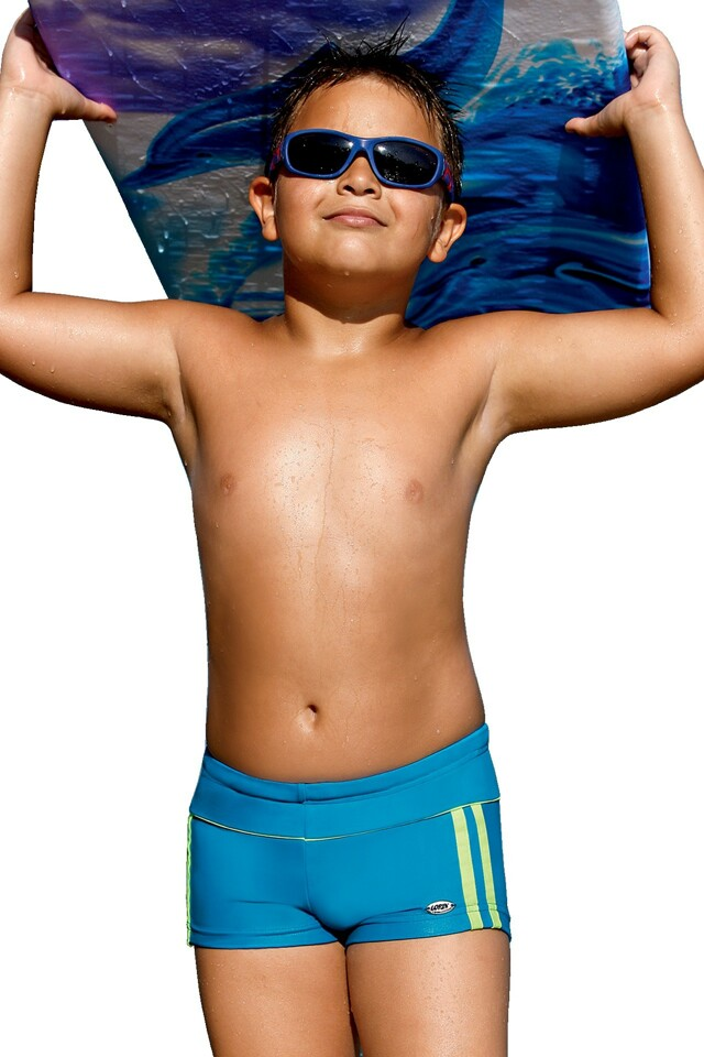 Plavky chlapecké Jirka modré - 122