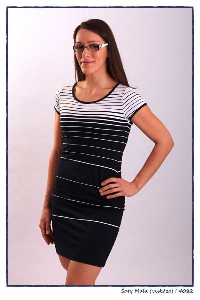 Dámské šaty 4082 - Sailor Tom - S - námořnický styl