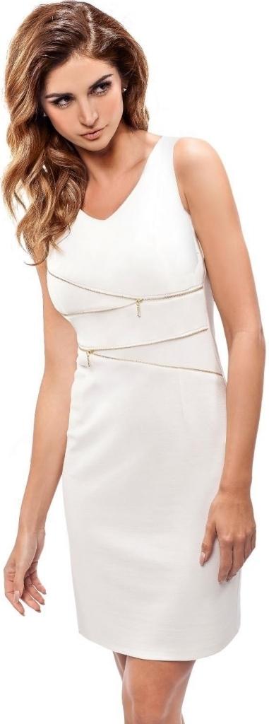 Dámské šaty 190081 - Enny - 42 - smetanová
