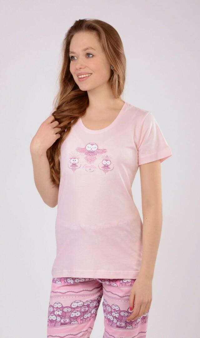 Dámské pyžamo kapri Malé sovy