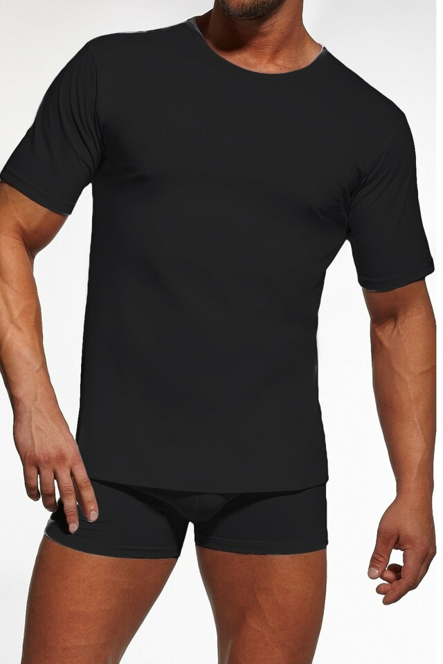 Pánské tričko 202 plus black