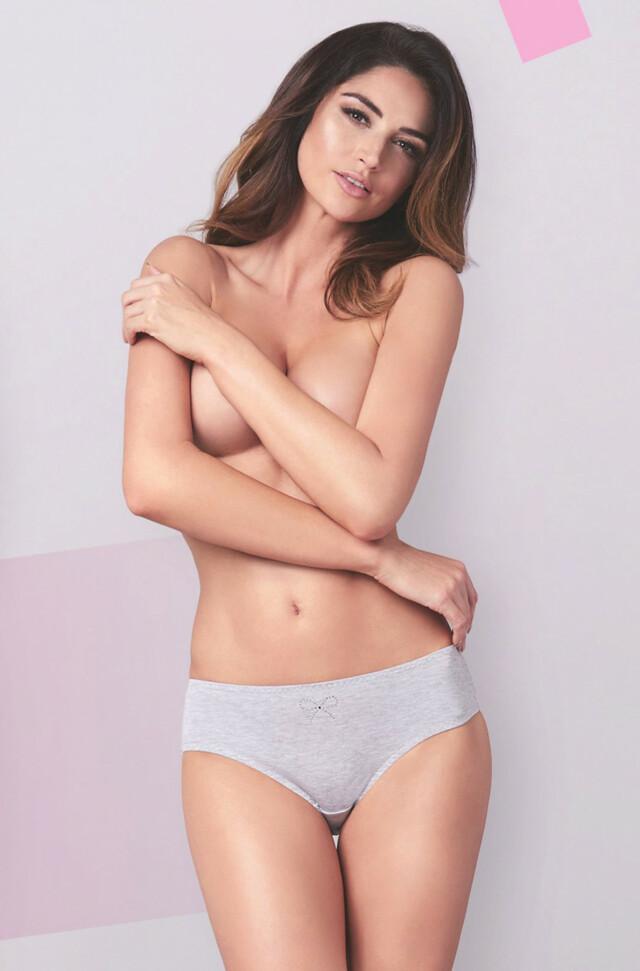 Kalhotky Ewana N 001 - M - bílá