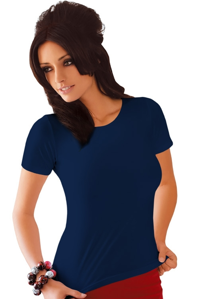 Dámské tričko Carla blue - S - modrá 9b6469cc30