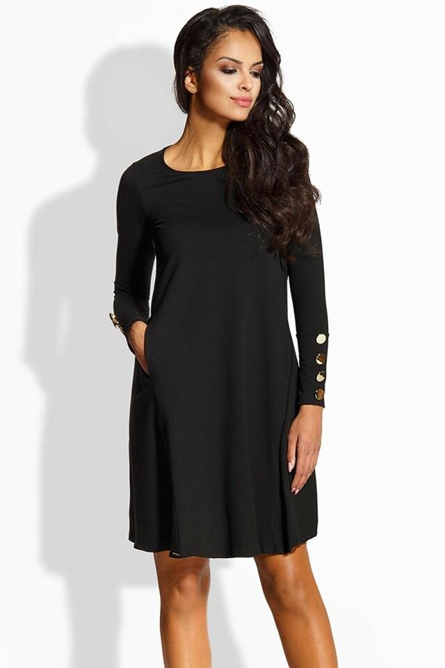 Dámské šaty Lemoniade L217 - L - černá