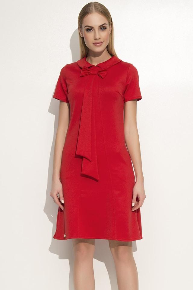 Dámské šaty Makadamia M351 - 40 - červená