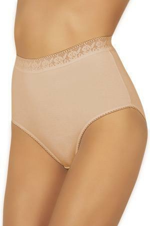Kalhotky Italian Fashion Fiore - 3XL - bílá