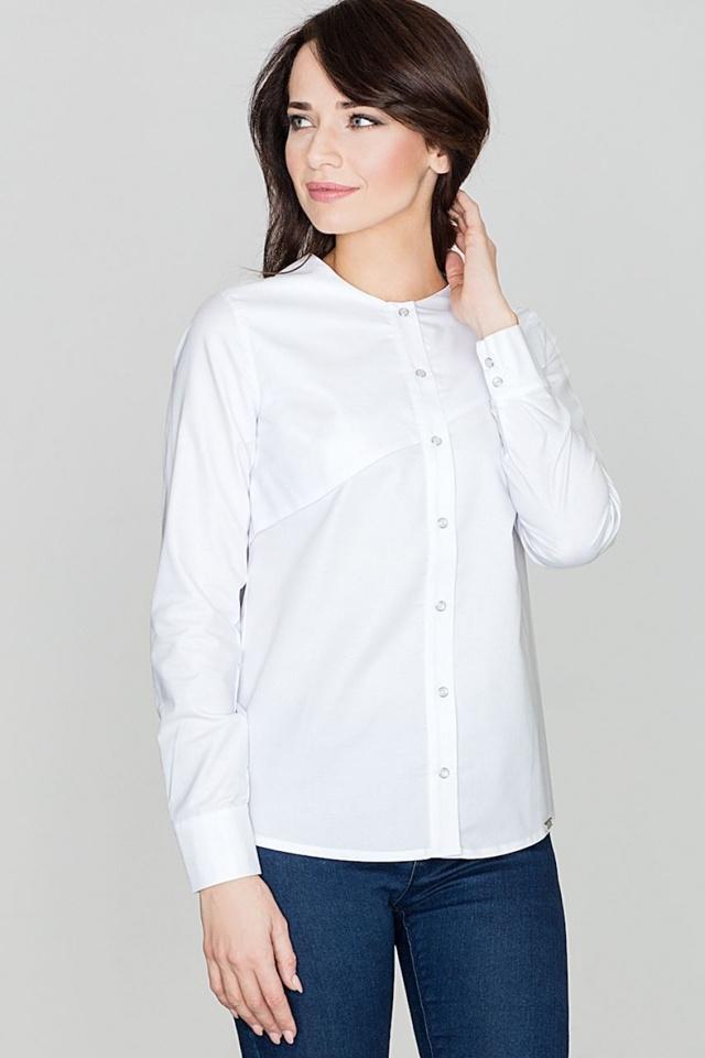 Košile s dlouhým rukávem model 114316 Lenitif - S