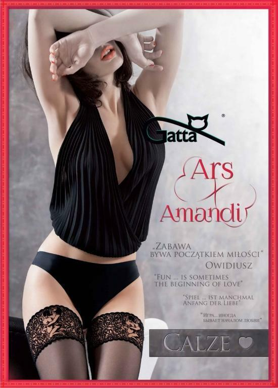 Samodržící punčochy Gatta Ars Amandi Calze 03