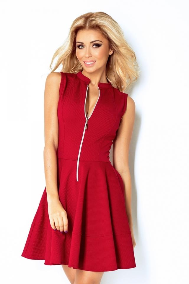 Dámské šaty 123-4 - XXL - vínová