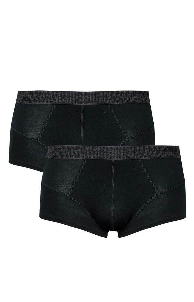 Boxerky sloggi men Dynamic Silver Plus Hip C2P - 6 - tělová, bílá, černá (V001)