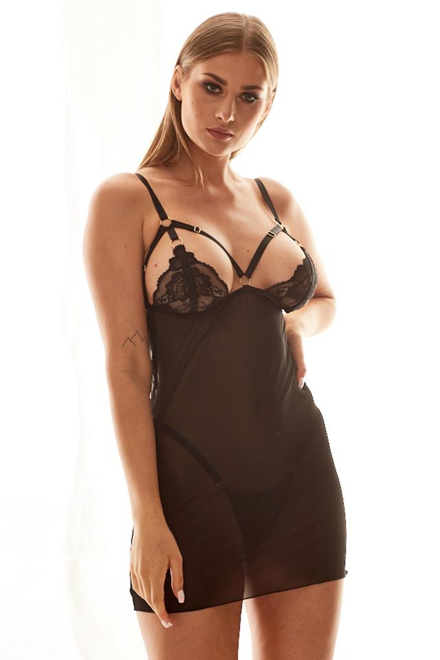 Erotický komplet Anais Alabama - L / XL - Černá