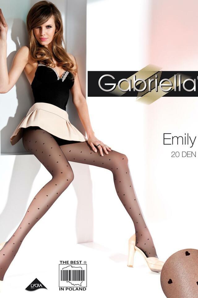 Punčochové kalhoty Gabriella Emily Code 495 - 2-S - nero 1f1a6904a2