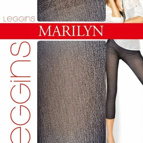 Dámské legíny Legginsy Shady Jeans - Marilyn - S/M - modrá