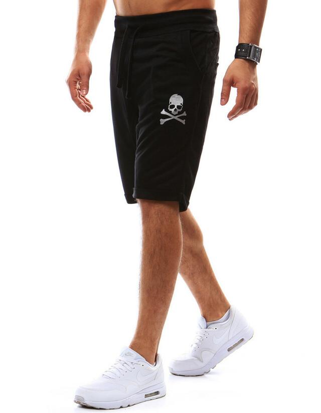 Krátké pánské teplákové kalhoty W-7452 (sx0418) - Hot red on Sun