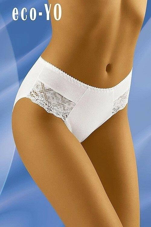 Dámské kalhotky eco-YO white - XL - bílá