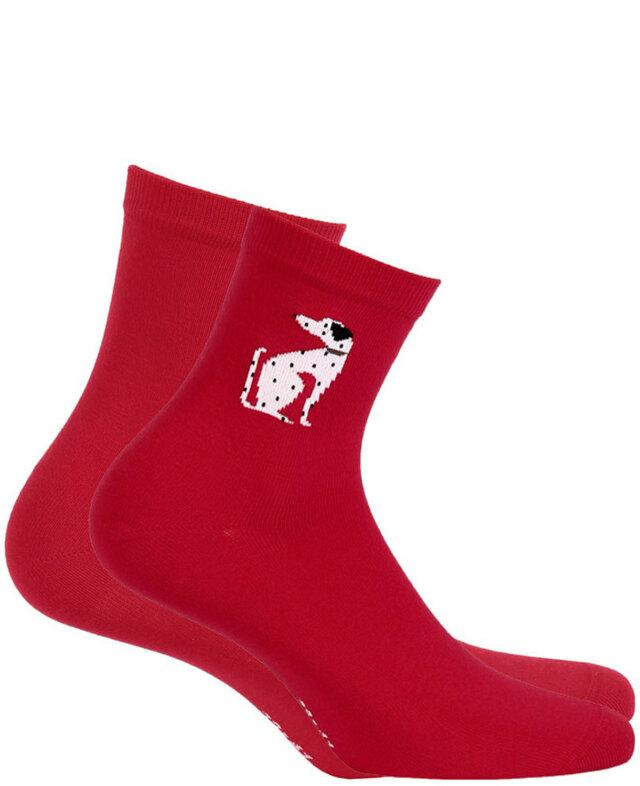 Dámské vzorované ponožky PERFECT WOMAN - milka - 36/38