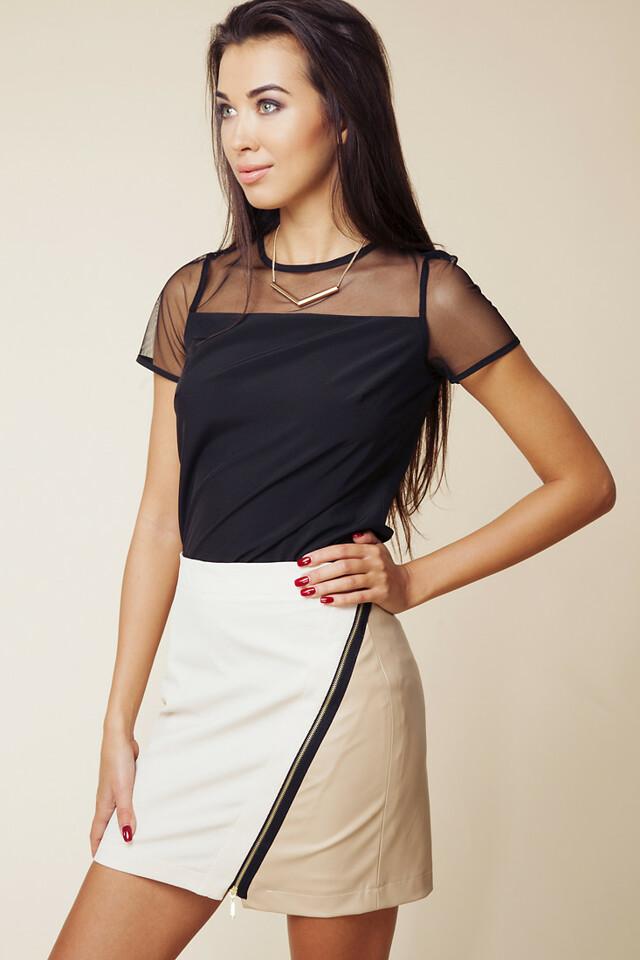 Dámská sukně 604 béžová - Ambigante - XS - béžová