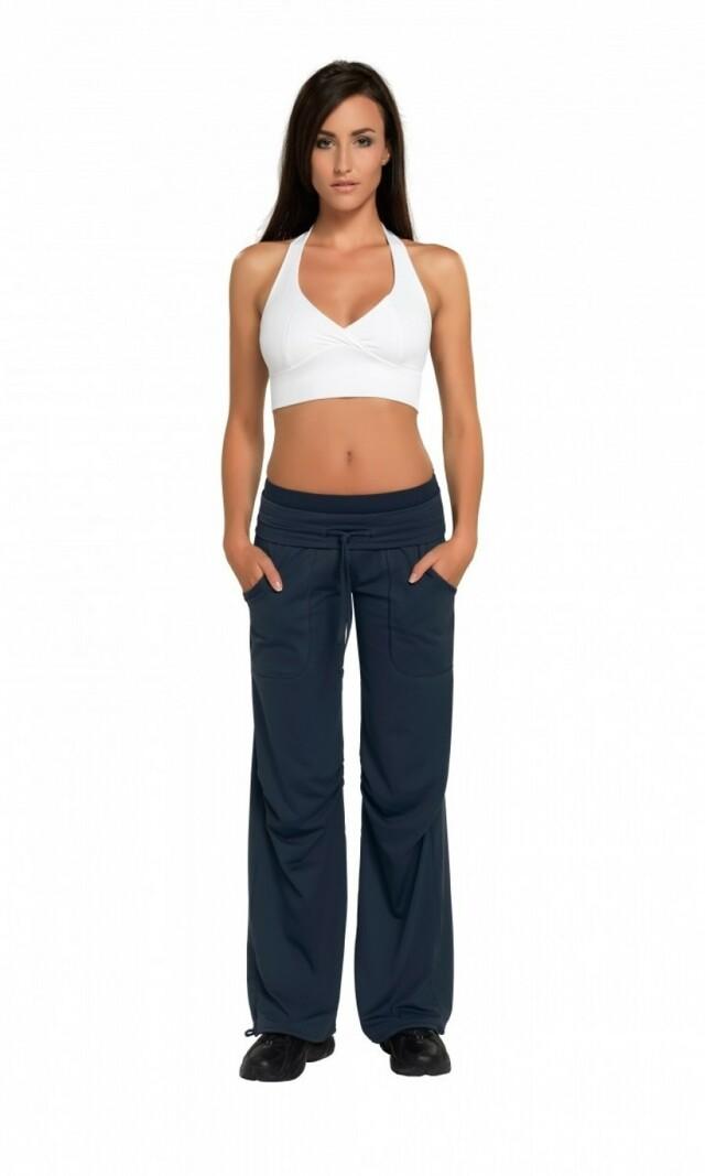 Fitness kalhoty Miranda graphite - M - grafitová