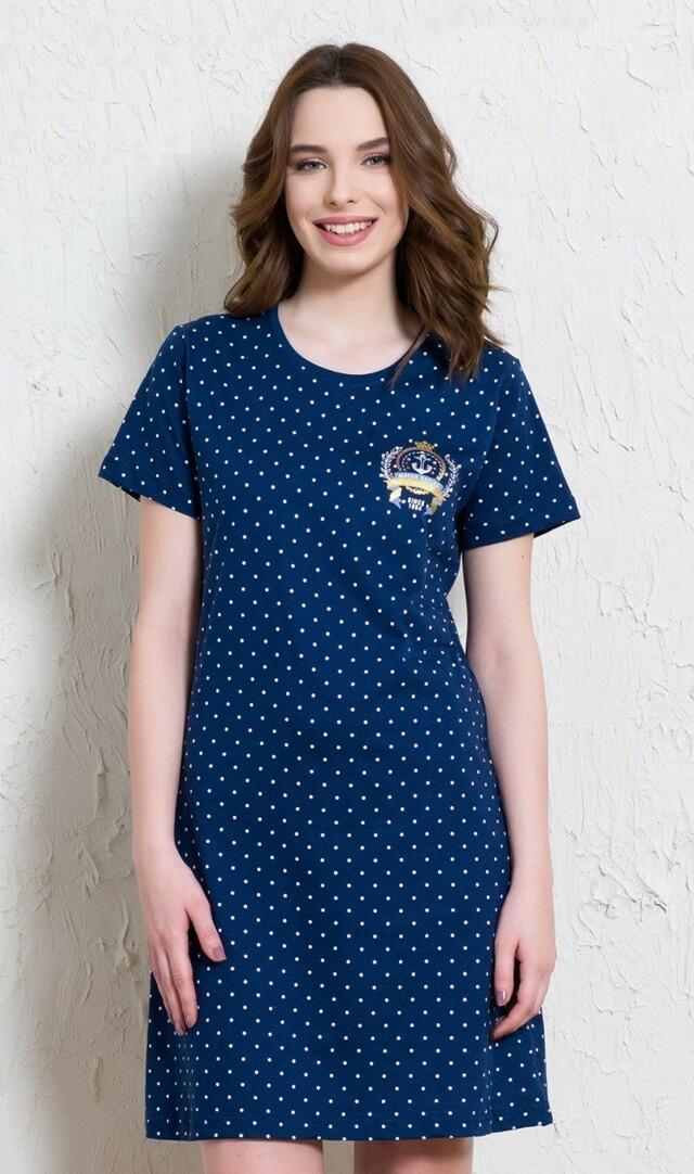Dámská noční košile s krátkým rukávem Fregata
