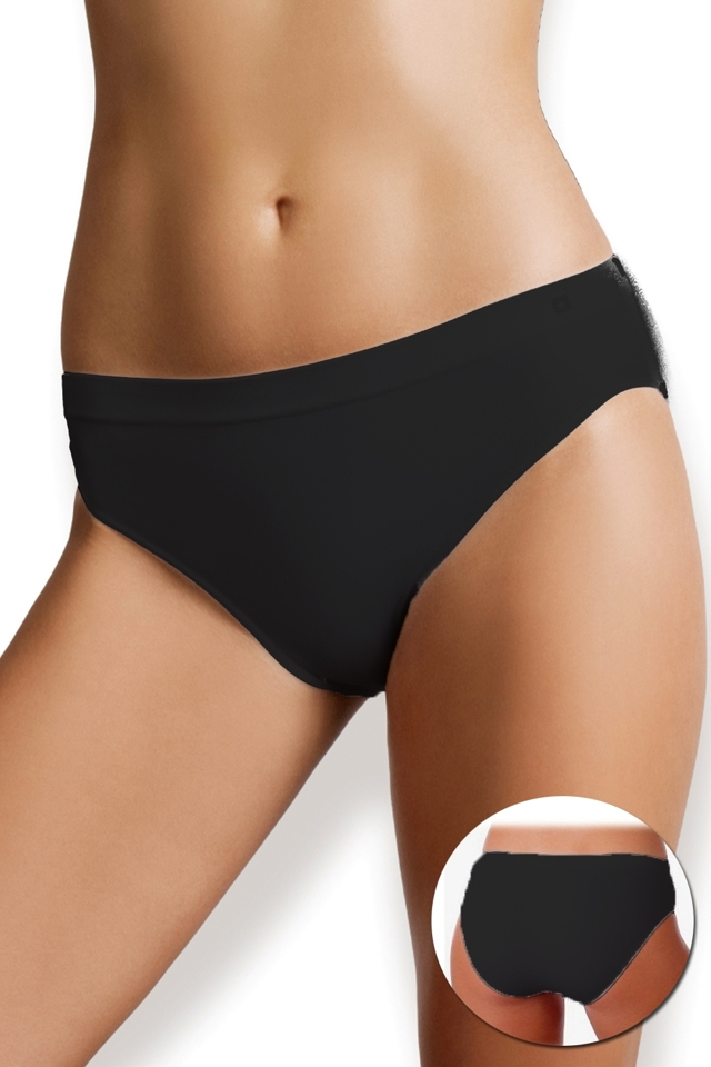 Dámské kalhotky Kiki 1443s black - S - černá
