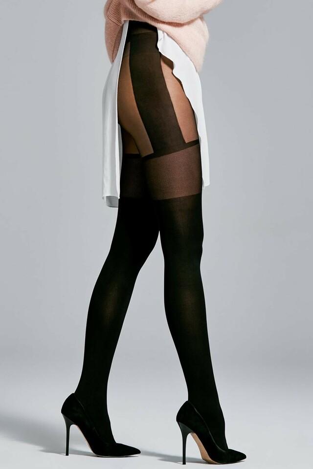 Dámské punčochové kalhoty Fiore Modern 40 DEN - 2-S - black