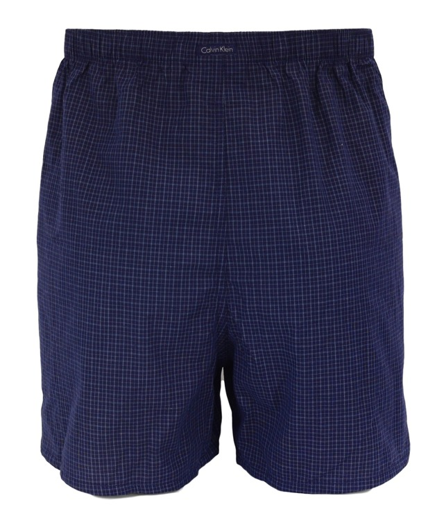 Pánské boxerky NU9996A - Calvin Klein - L - černá-bílá