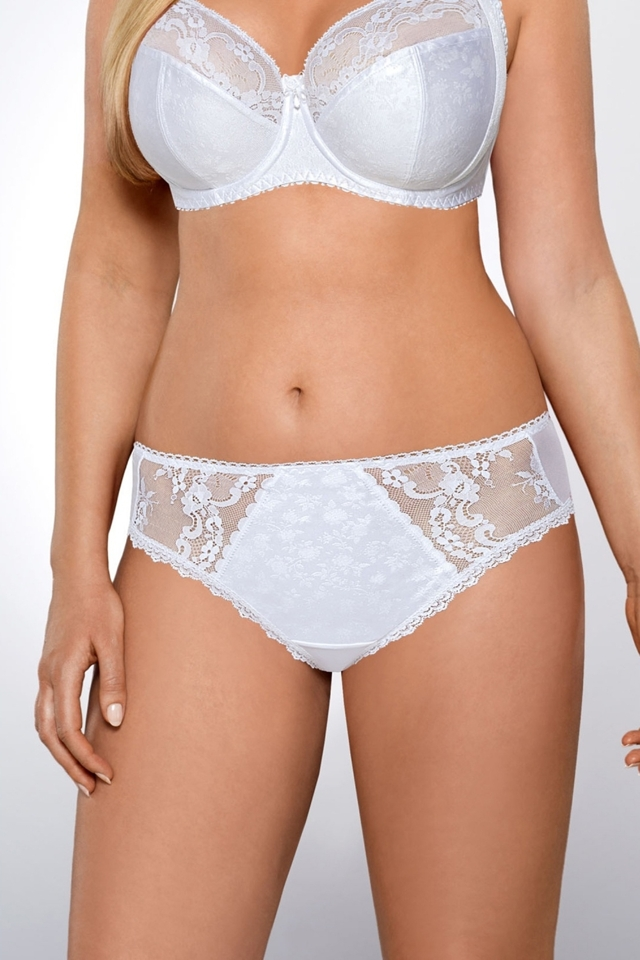 Dámské kalhotky 1130 white - XL - bílá