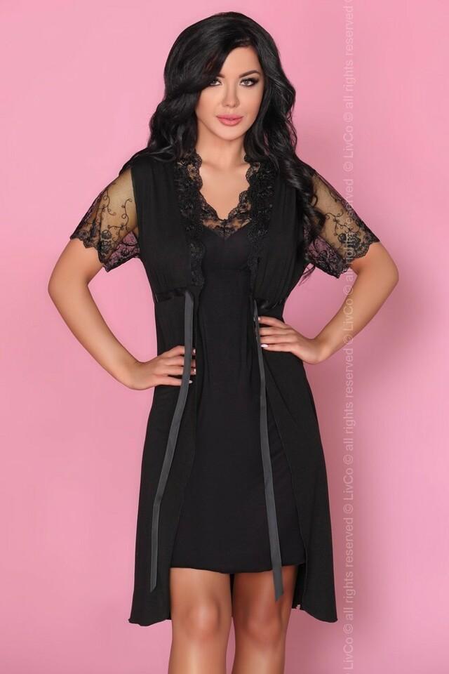 Krásný komplet Zorda - LivCo Corsetti - S M - černá 00b45aa0c7