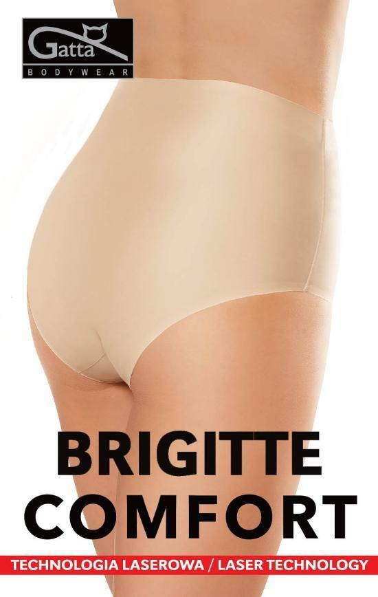 Kalhotky bezešvé Brigitte Comfort - Gatta - M - béžová