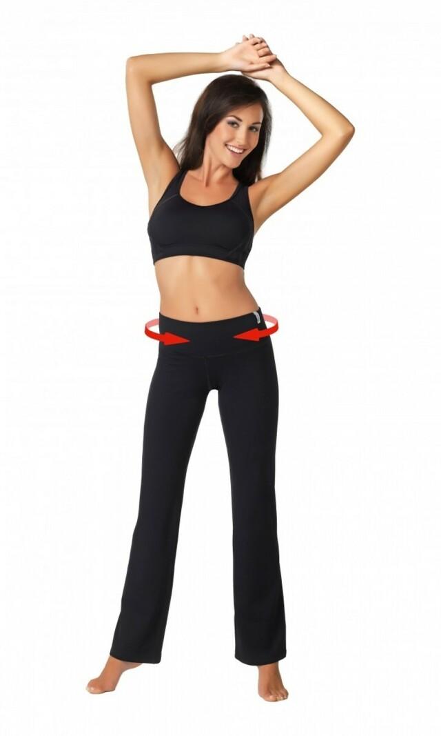 Fitness kalhoty Slimming pants colorado - L - černá