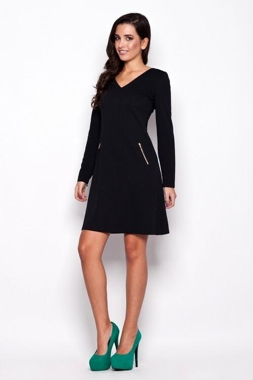 Dámské šaty K078 black