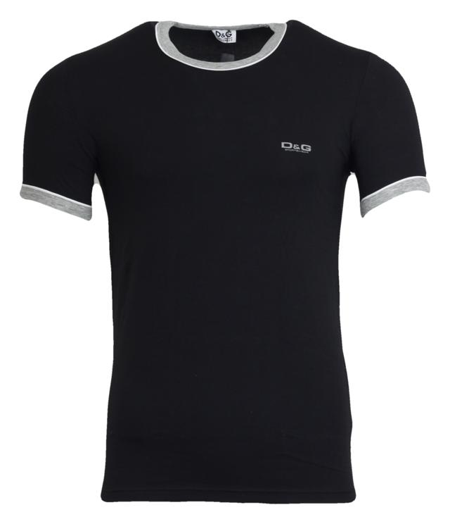 Pánské tričko M30866 black - Dolce Gabbana
