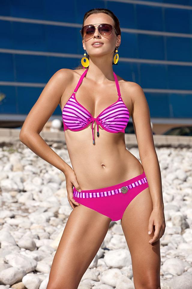 Dvoudílné plavky Alice M-216 - Verano - 44 - růžová