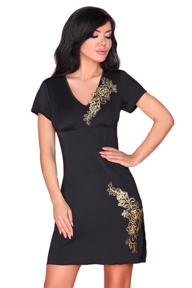Dámská košilka Medea - S/M - černá