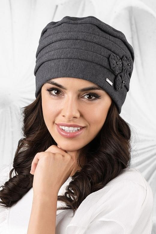 Dámská čepice model 163049 černá - Kamea - uni - černá 600596871e