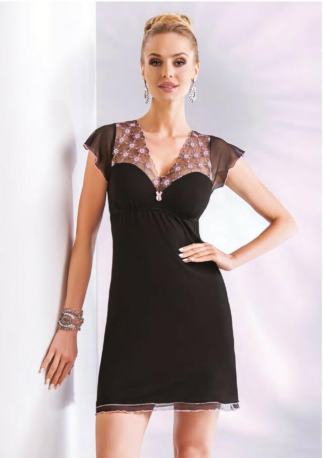 Noční košile Donna Paris - L - černá