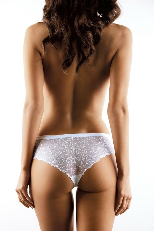 Dámské kalhotky 055 white - XL - bílá