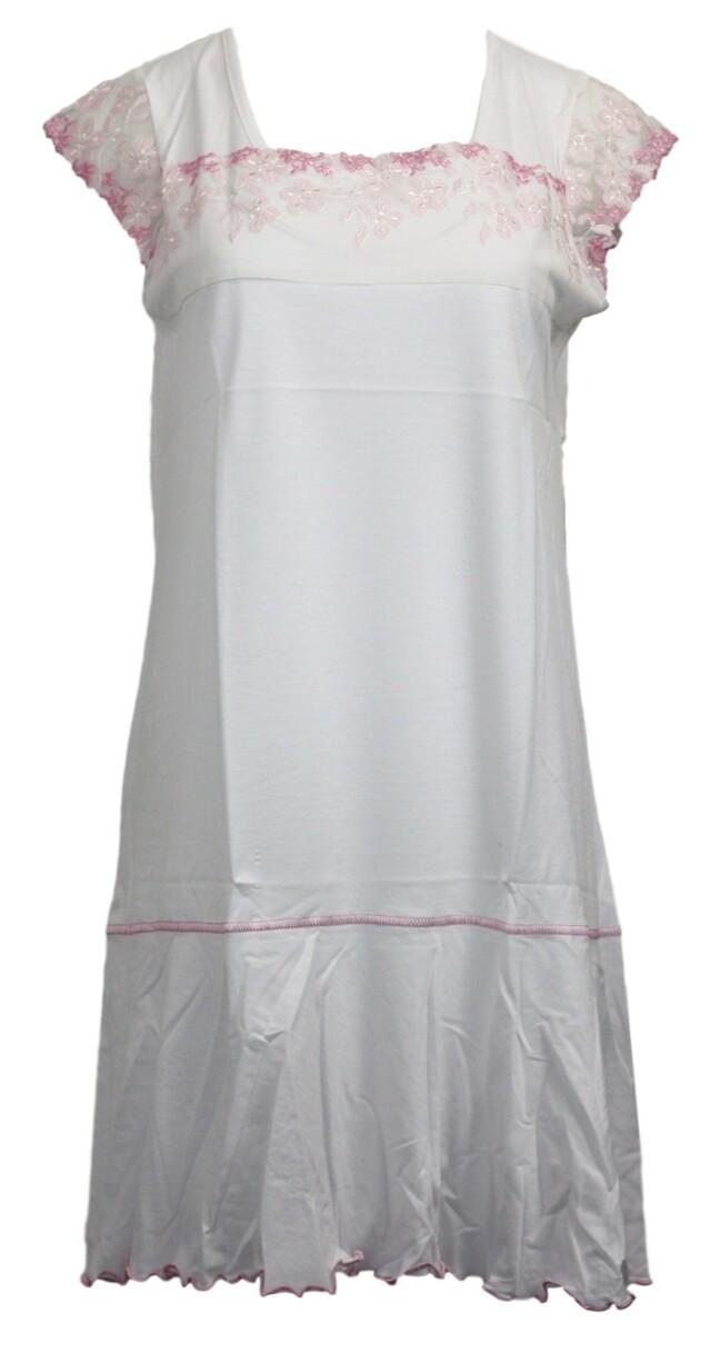 Dámská noční košile F-1037/1 - Prako - M - bílá