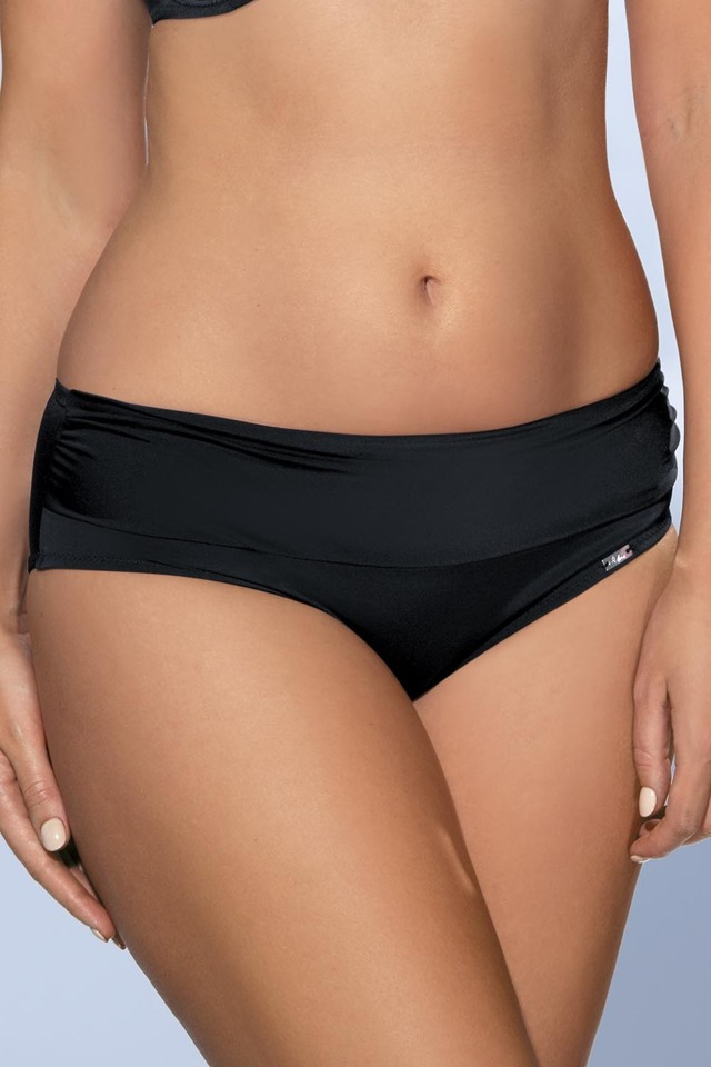Dámské plavkové kalhotky Ava SF-13/3 - 3XL - černá