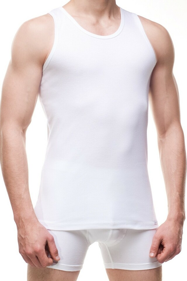 Pánský nátělník 213 white